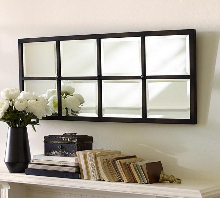 зеркальные самоклеющиеся панели