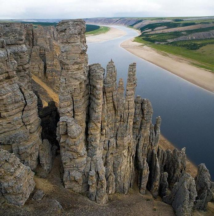 устье реки Оленек