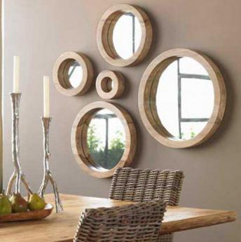 Los espejos decorativos
