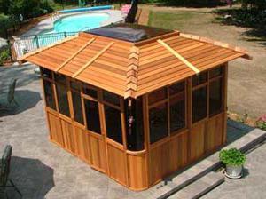деревянные крыши фото