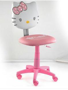 детское компьютерное кресло для девочки