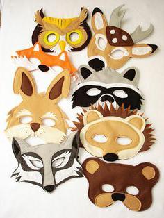 сделать новогоднюю маску своими руками