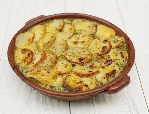 картофельная запеканка без мяса в мультиварке