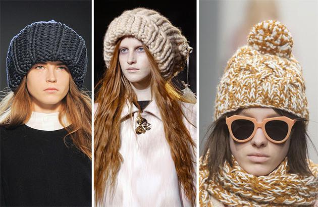 вязаные головные уборы для женщин