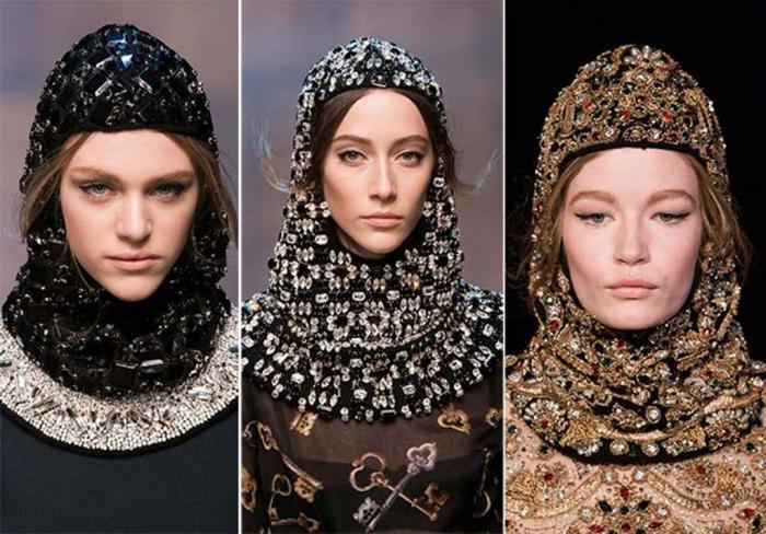 модели головных уборов для женщин