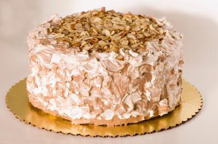 Торт орешек со сгущенкой