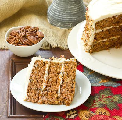 ореховый бисквитный торт
