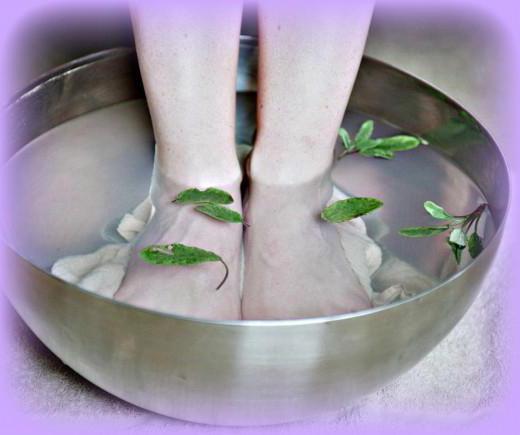 лечение отложения солей в пятке