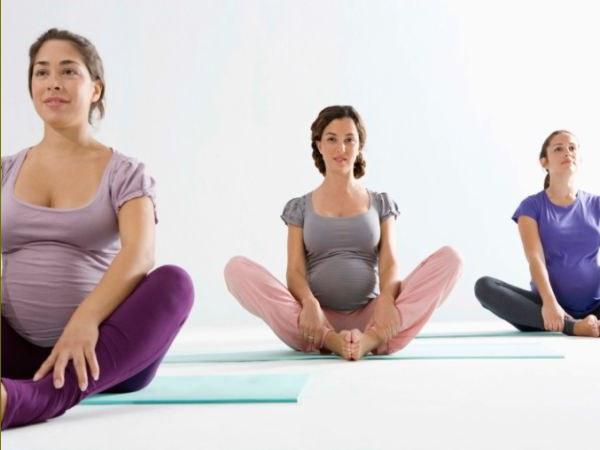Упражнение для беременных чтобы легче родить 35