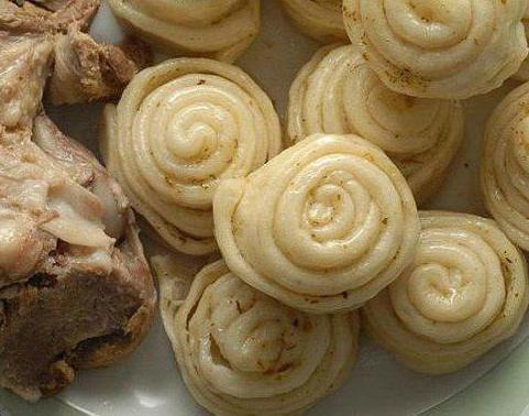 Хинкал слоеный фото рецепт пошаговый
