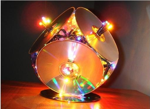 Обезьянка из дисков своими руками на новый