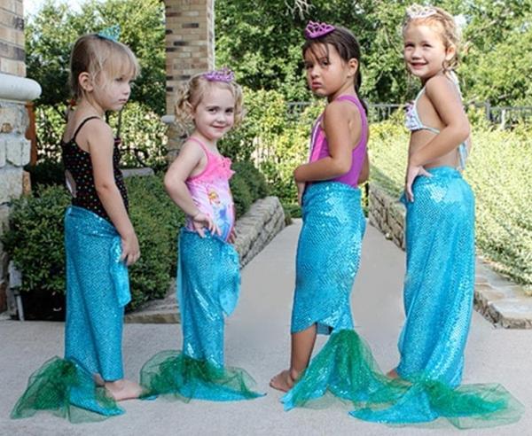 Костюмы для детей русалки своими руками