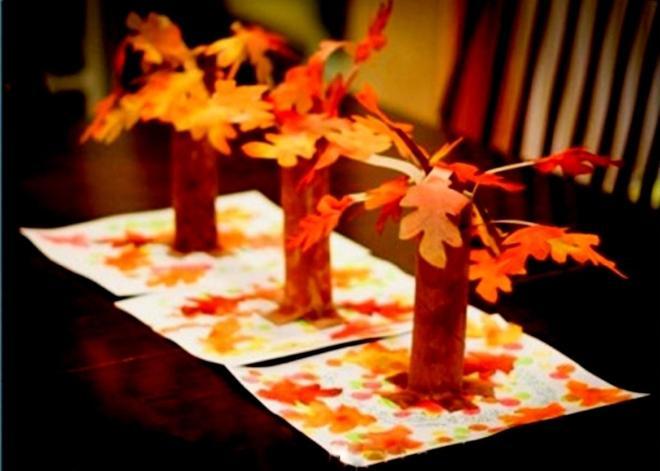 Картинки про осень объемные
