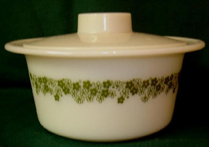 растительный орнамент на посуде