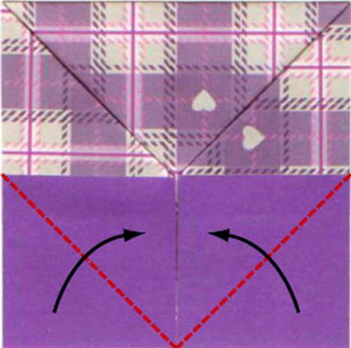 как сделать кошелек в технике оригами
