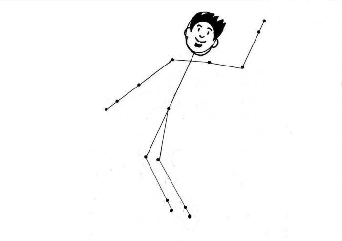 как нарисовать спортсмена поэтапно