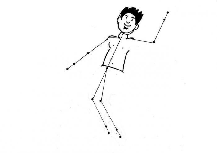 как нарисовать спортсмена карандашом поэтапно