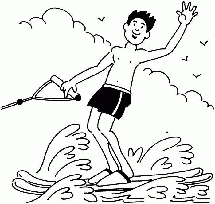 мастер класс изображения водного спортсмена