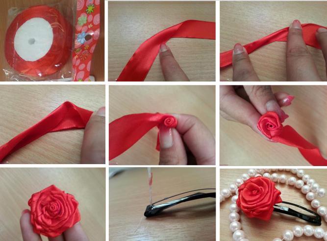 канзаши мастер класс роза