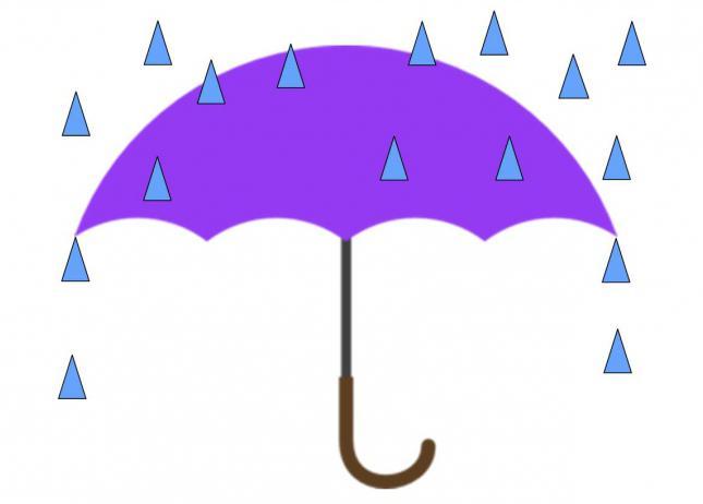 аппликация для детей 2 3 лет зонтик