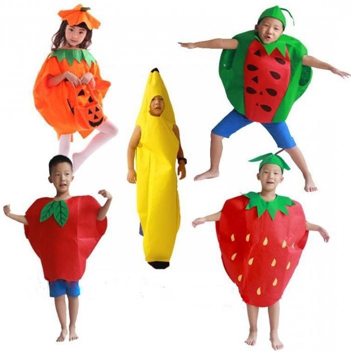сценка про фрукты и овощи