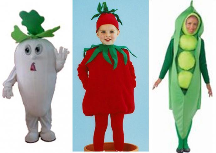 сценка про овощи