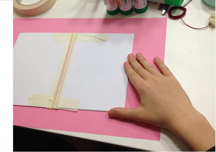 как сделать книжку из картона