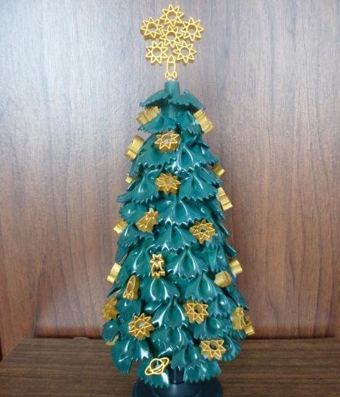 елка из макарон фото