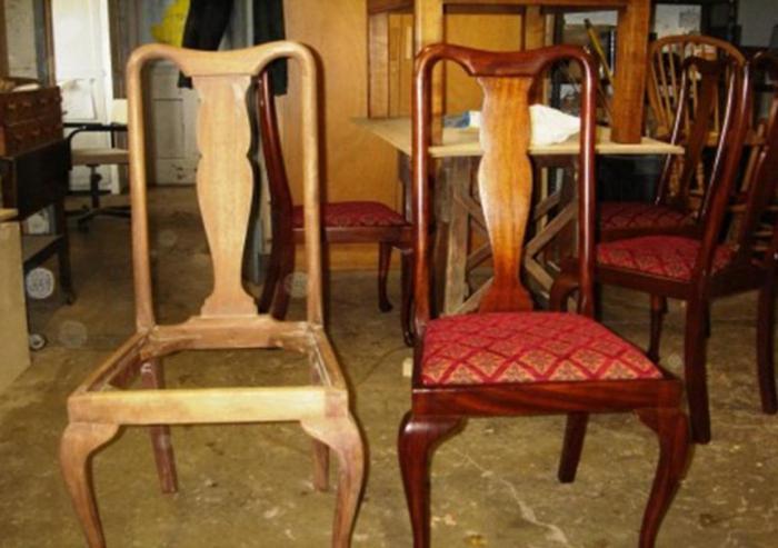 реставрация мягкого стула своими руками