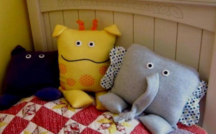 игрушки подушки выкройки