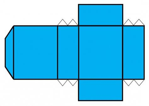 схема коробочки выкройка