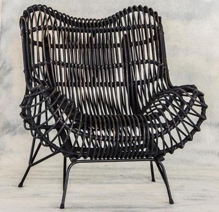 Плетеная мебель из проволоки своими руками 67