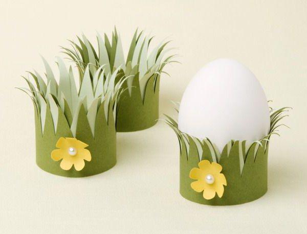подставочки для пасхальных яиц за 5 минут