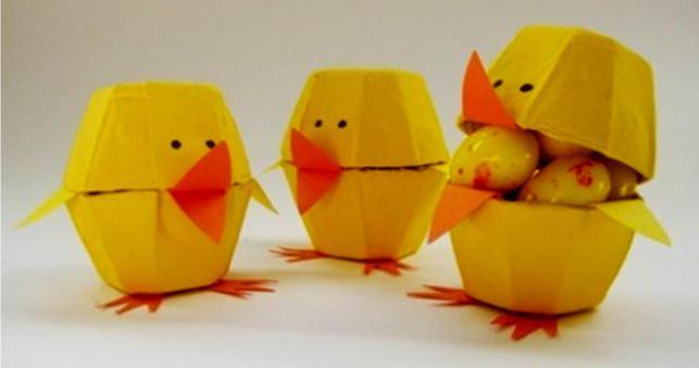 идеи подставок для яиц из бумаги
