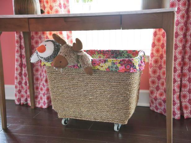 корзины для хранения игрушек