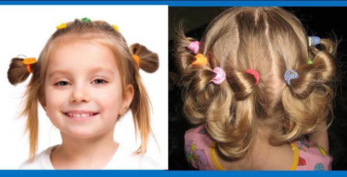 простые прически для маленьких девочек на каждый день на средние волосы