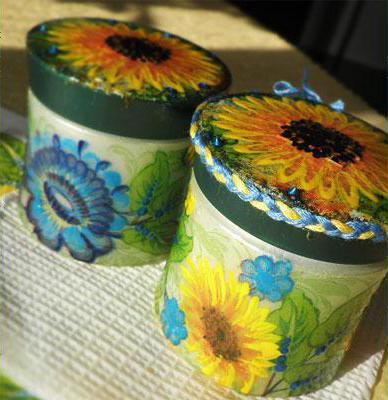 поделки для сада из майонезных ведерок своими руками