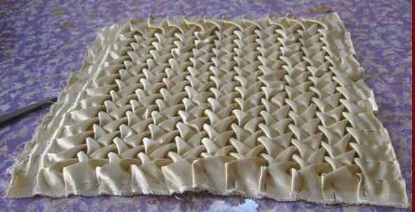 подушка буфы схемы