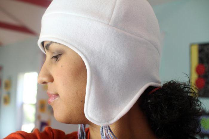 женская шапка из флиса выкройка