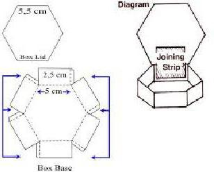 как сделать коробку с откидной крышкой