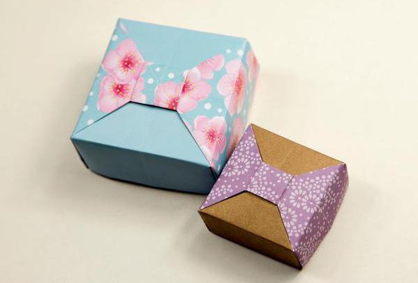 как сделать из коробки коробку с крышкой