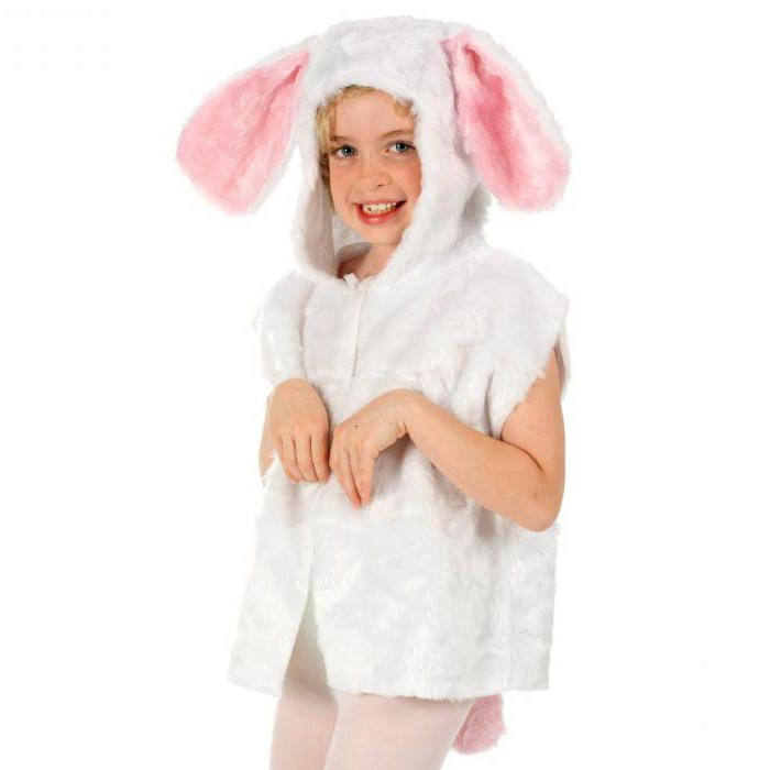 как сшить костюм зайчика