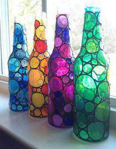 витражные краски для детей своими руками