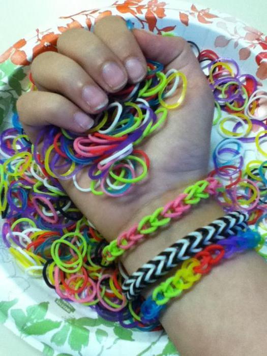 виды плетения браслетов из резинок на рогатке