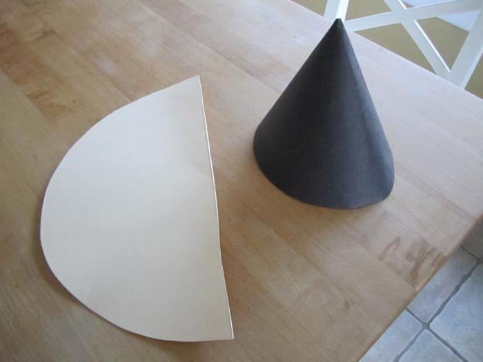 как сделать конус из бумаги для елки большой
