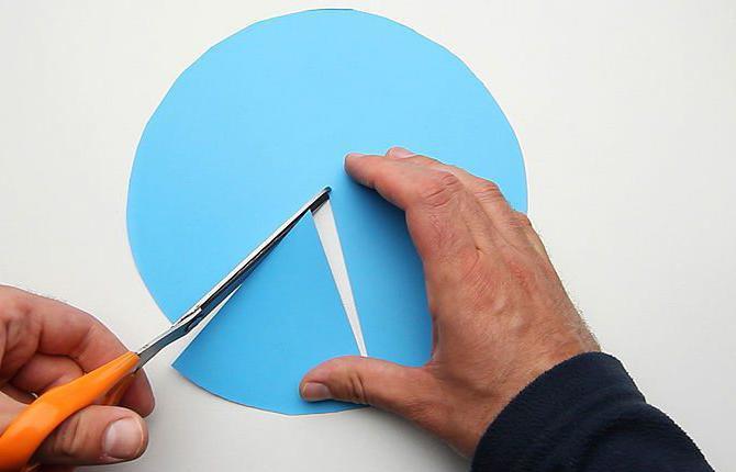 как сделать конус из бумаги для елки своими руками