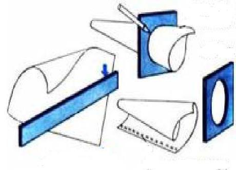 как сделать конус из бумаги для елки пошаговая инструкция