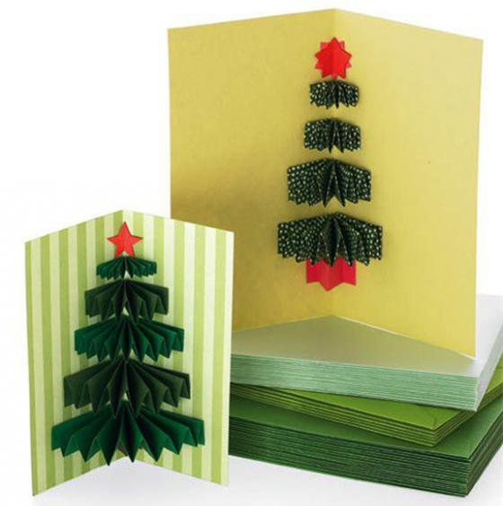 идеи новогодних открыток своими руками с детьми