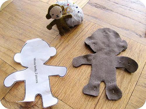 мягкая игрушка обезьянка тильда своими руками выкройки