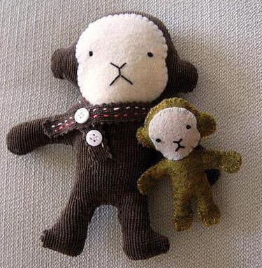 мягкая игрушка обезьянка своими руками выкройки